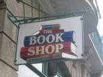 Book shop sign at Liskeard