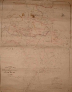 Liskeard mining map 1863