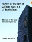 Book cover of the Sketch of the life of William West of Tredenham
