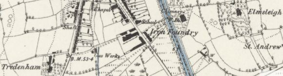 Map1881Tredenham