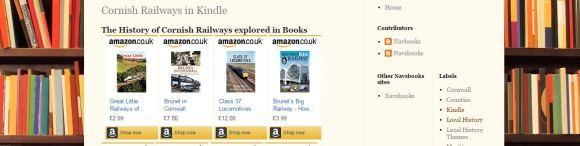 BookshelfCornishRailway