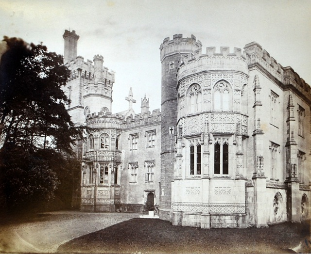 place_castle_fowey_-_south_front_c_1870