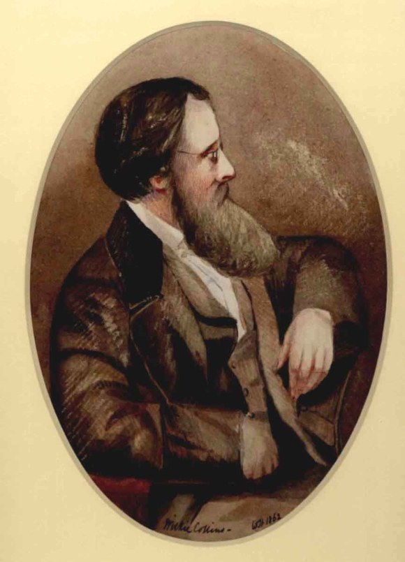 A portrait of Wilkie Collins