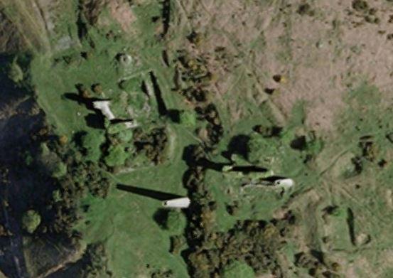 South Caradon Sump Shaft area in google Earth