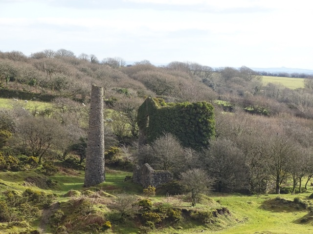 Jope's shaft seen from the west
