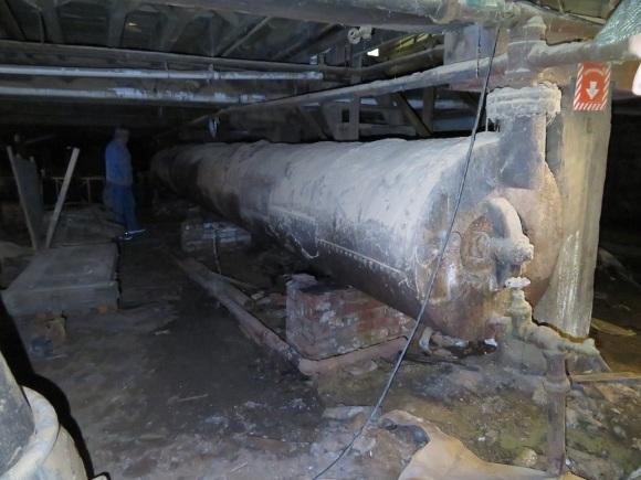 President Engine Boiler