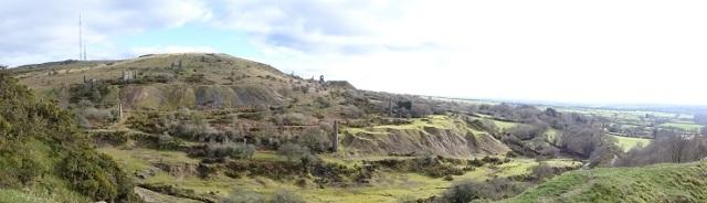 South Caradon Mine in 2018 taken from West Caradon