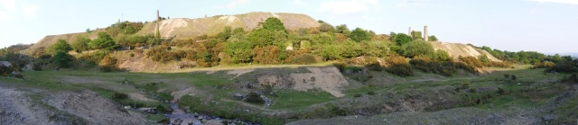 South Caradon Mine panorama