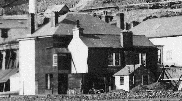 South Caradon Mine Counthouse in the 1880s