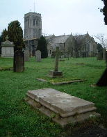 Peter Clymo's grave at Liskeard